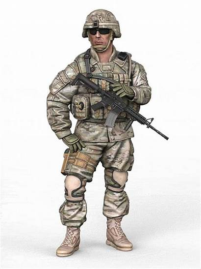 Army Paratrooper Assault Models Corps Visit Please