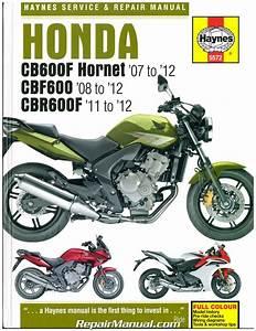 Honda Cb600f Hornet  Cbf600  Cbr600f 2007