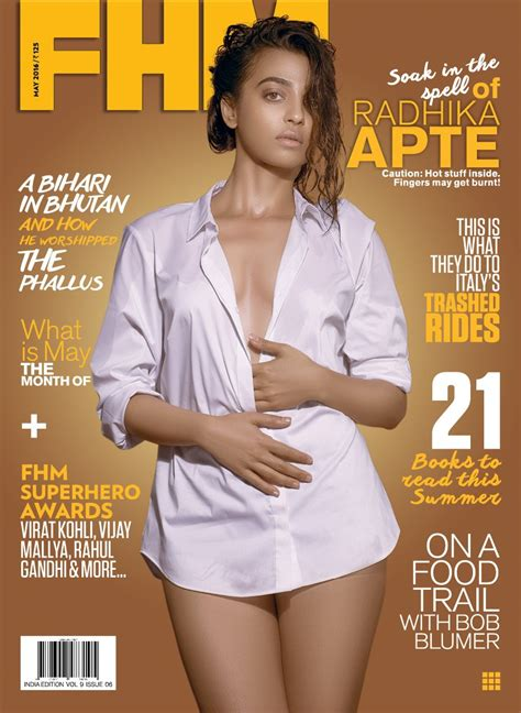 Radhika Apte Hot Photoshoot For Fhm Magazine Ultra Hd