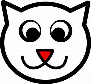 Image, Result, For, Happy, Cat, Face, Drawing