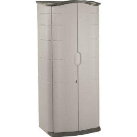 rubbermaid outdoor storage shed accessories rubbermaid 3749 vertical storage shed 17 cubic ft ebay