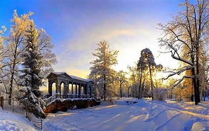 Scenery Winter Wallpapers Landscape Snow Widescreen