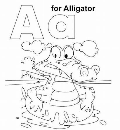 Letter Coloring Pages Alphabet Ur