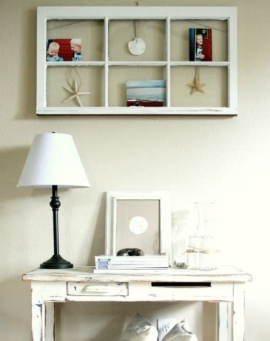 See more ideas about decor window decor old window decor. Coastal Wall Decor Ideas with Old Window Frames - Completely Coastal
