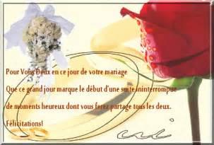 texte fã licitation mariage sle cover letter exemple de lettre felicitation mariage