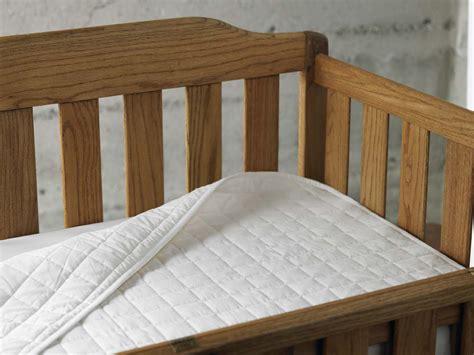 crib mattress pad coyuchi crib mattress pad