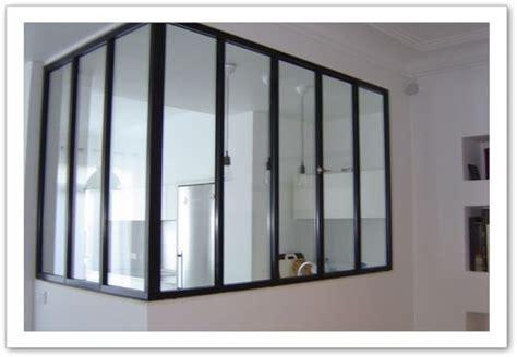 verriere entre cuisine et salle à manger de verrieredinterieur les verrières d 39 intérieur style atelier loft verrière d 39 intérieur