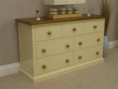 Bedroom Furniture Cream Chest Of Drawers