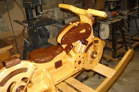 Woodworking Plans Wooden Rocking Motorcycle Pdf Plans
