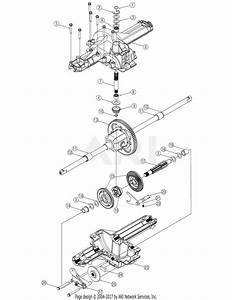 Mtd 13ar608p731  2004  Parts Diagram For Transmission Assembly