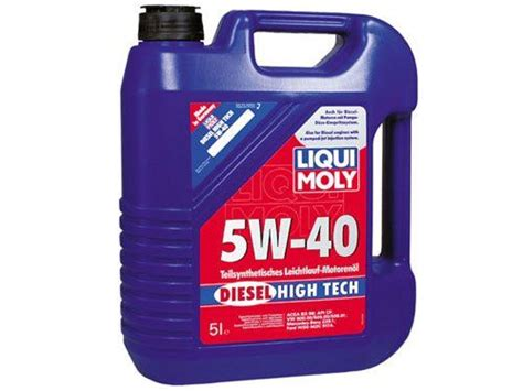 liqui moly 5w40 liquimoly liqui moly 5w40 synthetic diesel high tech