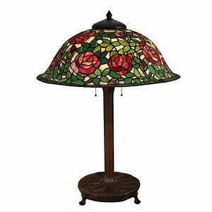 "Dale Tiffany Rose Bush 31 5"" Table Lamp Wayfair"