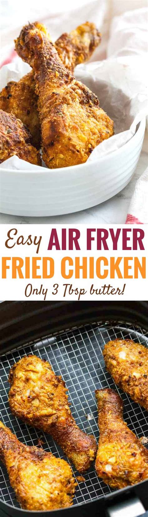 airfryer fryer chicken air drumsticks fried recipes easy recipe butter juicy crispy really oven tbsp frier philips fry flavor cooking