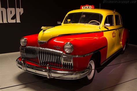 DeSoto Custom Series S-11C Taxicab - The Louwman Museum