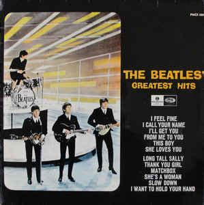 The Beatles  The Beatles' Greatest Hits (vinyl, Lp) At