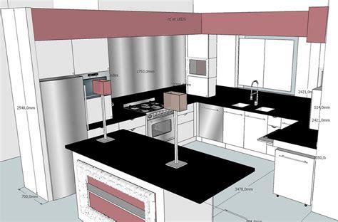 dessiner plan cuisine dessiner une cuisine en 3d 28 images dessiner plan