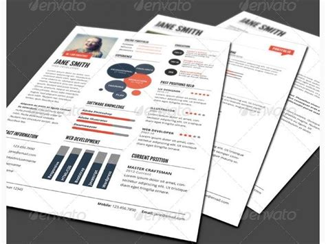 Resume Infographic Creator by 30 Best Creative Infographic Resume Templates Images On