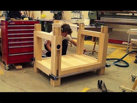 building  roubo workbench part  youtube
