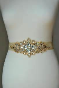 bridesmaid sashes luxury gold bridal sash wedding dress sash belt rhinestone sash rhinestone bridal
