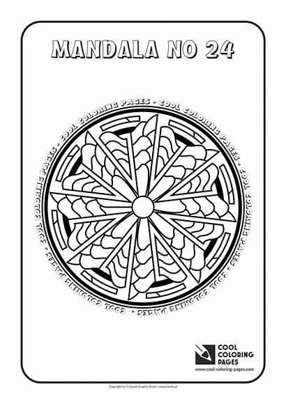 Mandalas Coloring Cool Pages Mandala Educational