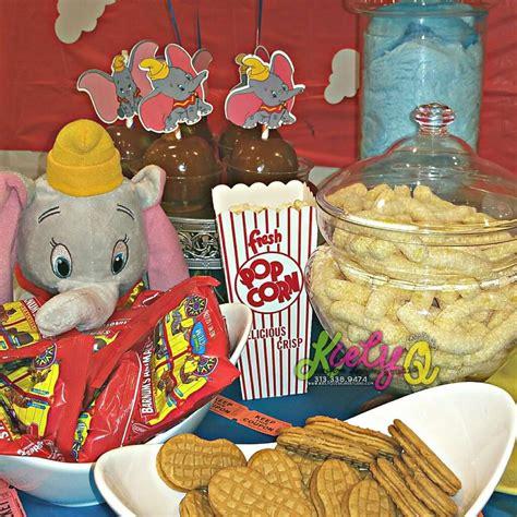 dumbo  flying elephant baby shower party ideas photo