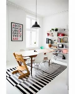Tapis Graphique Noir Et Blanc : tapis ikea noir et blanc ~ Teatrodelosmanantiales.com Idées de Décoration