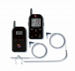 Kugelgrill Mit Thermometer : maverick et 732 wireless barbecue thermometer mit funk ~ Michelbontemps.com Haus und Dekorationen