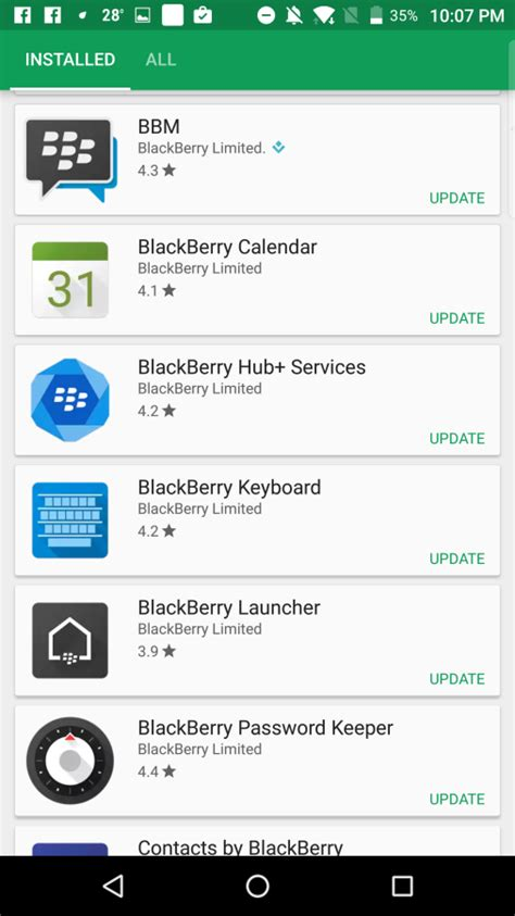 blackberry updates android applications launcher with theme berryreview