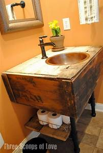 Creative under sink storage ideas hative for Diy bathroom sink ideas