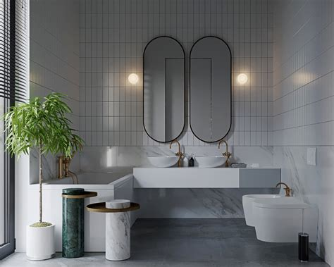 Modern Bathroom Pictures Grey by 36 Modern Grey White Bathrooms That Relax Mind Soul