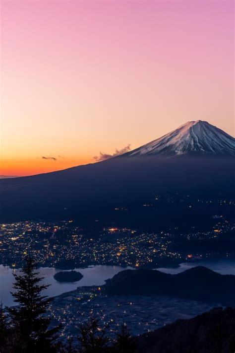 japan landscape nature dawn vertical mt fuji uploadsbyme