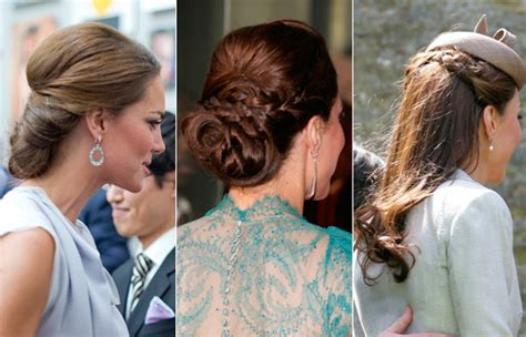 The Duchess Cambridge Different Hairstyles Hello