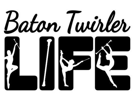 What are svg files for cricut? Free Baton Twirler Life SVG | Svg file, Silhouette, Cricut