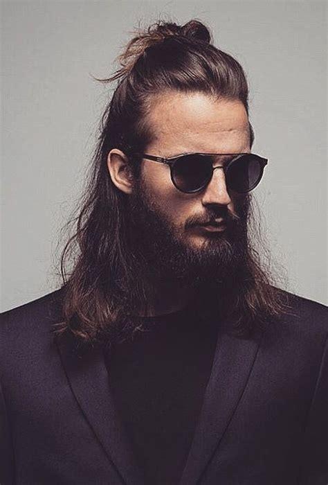 gorgeous mens bun hairstyle  haircuts hairstyles
