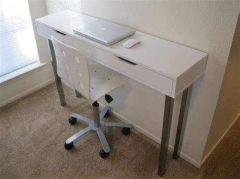 narrow desks for small spaces narrow desk could be great for small spaces for the