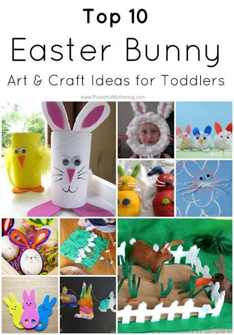 craft ideas easter top 10 easter bunny craft ideas for toddlers 1531