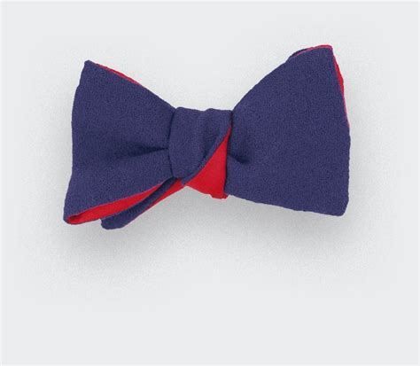 bow tie purple laine royale hand  cinabre paris