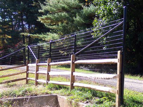 deer fence design deer fencing md and sons fencing nj