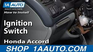 How To Replace Ignition Switch 94