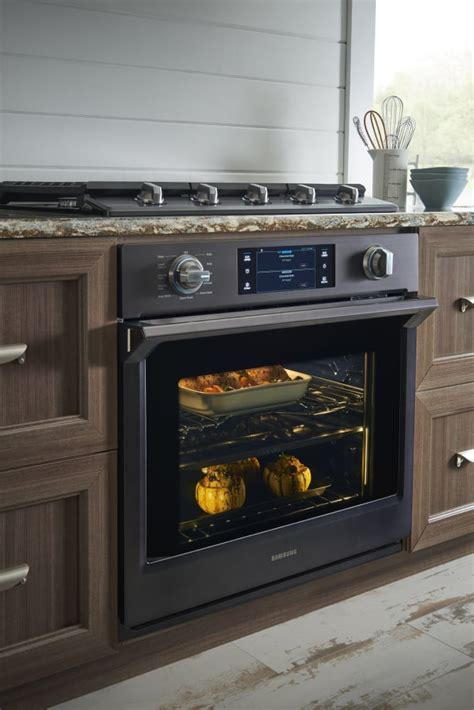 samsung oven racks samsung nv51k7770sg 30 inch wall oven with 5 1 cu ft