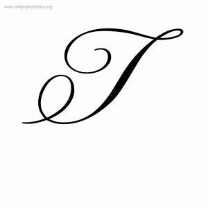 Printables. Capital Letter T In Cursive. Gozoneguide ...
