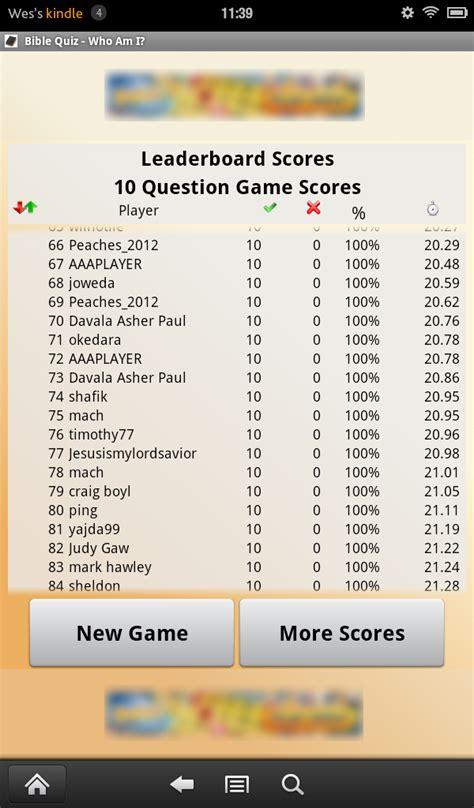 amazoncom bible quiz    appstore  android