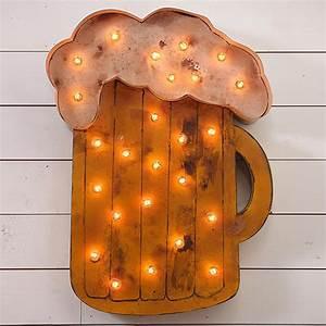 Design Legacy Lighted Beer Mug Sign - LSMUG
