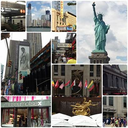 Collage Nyc Places Trip York