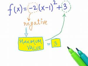 Quadratische Funktionen A Berechnen : das minimum oder maximum einer quadratischen funktion bestimmen wikihow ~ Themetempest.com Abrechnung