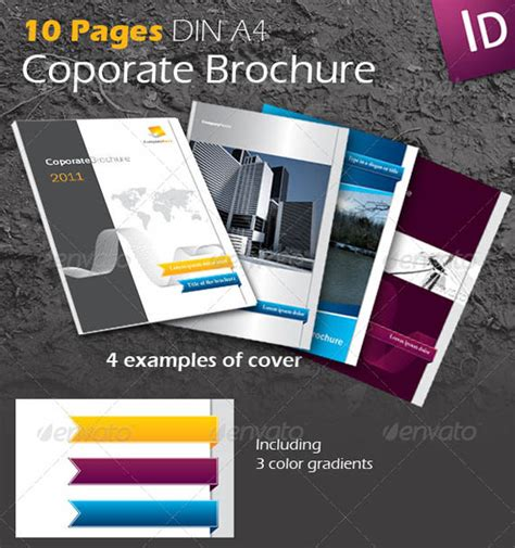 30 Modern Business Brochure Templates Brochure Idesignow Inkscape Brochure Template 30 Modern Business Brochure