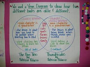 Using A Venn Diagram To Compare Two Books By The Same