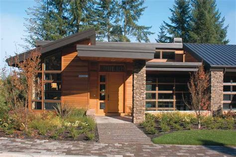 shed style homes contemporary modern house plans at eplans modern