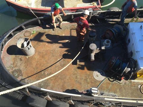 Tugboat Deck by Tugboat Deck Coating Removal
