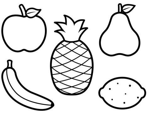inilah 8 gambar mewarnai buah